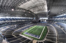 The way things are going, this is what Cowboys' Stadium will soon look like at game time.