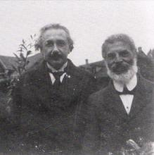 Einstein and his friend, Michele Besso